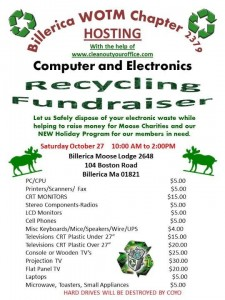 Electronics Recycling Event Billerica MA